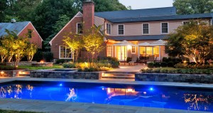 Outdoor lighting can help prevent unintentional injuries from happening on your property this summer.