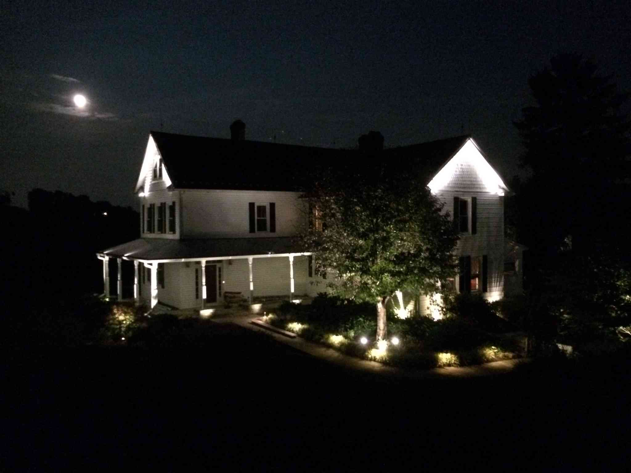outdoor lighting tips to increase curb appeal aqua bright