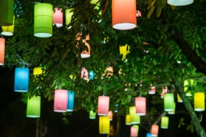 Lanterns provide a diverse outdoor lighting option, as they come in a variety of colors, shapes, sizes, and materials to create a beautifully unique appeal.