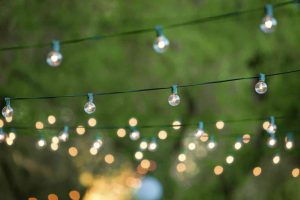 Create a Mood with Outdoor String Lighting