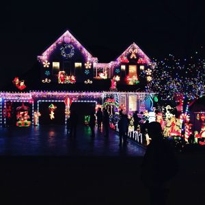 Call Aqua Bright for all your holiday lighting needs!