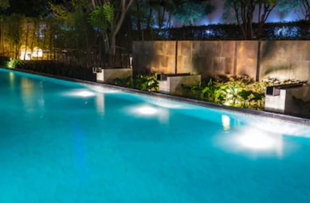 Swimming Pool Accent Lighting Trends Aqua Bright