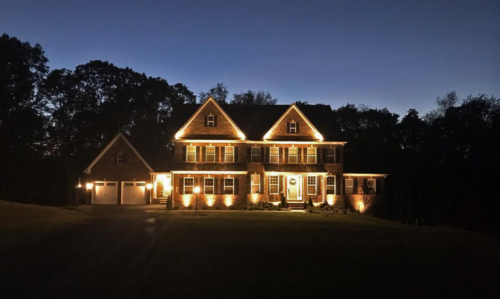 accent lighting design, install service company, located in howard county, md