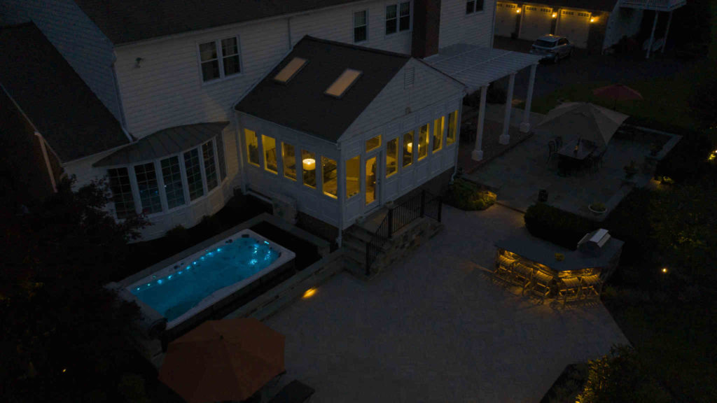 accent lighting system installation company, serving washington dc, maryland